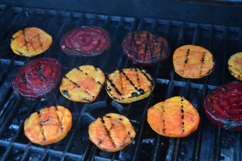 Grilling Beets