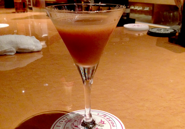 Authentic Bar Kreis Rum Raisin Cocktail