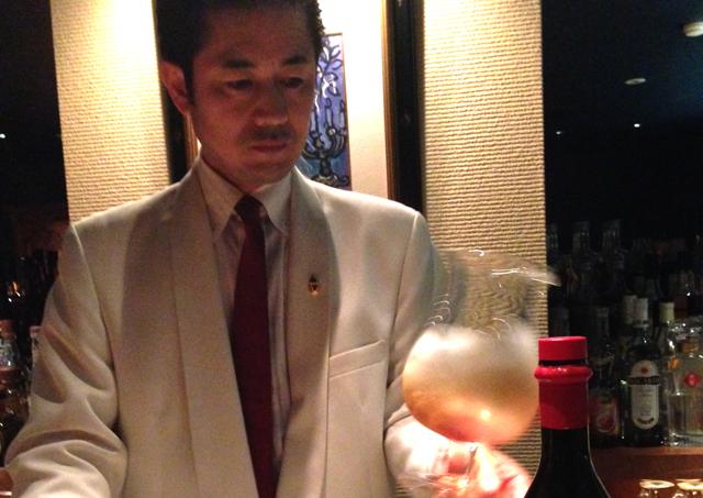 Authentic Bar Kreis Mr. Tahara